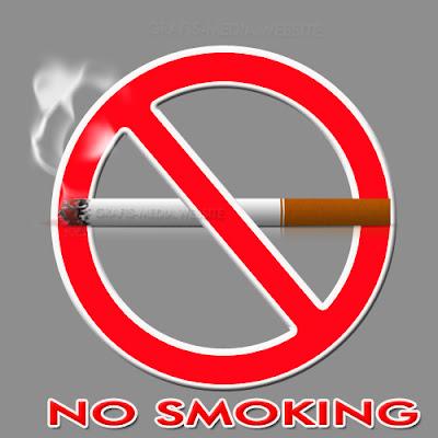 Cara Membuat Poster Dilarang Merokok Di Photoshop  GRAFIS