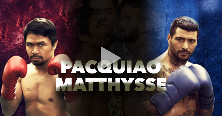Pacquiao vs Matthysse, the fight in live stream, pay-per-view and free television
