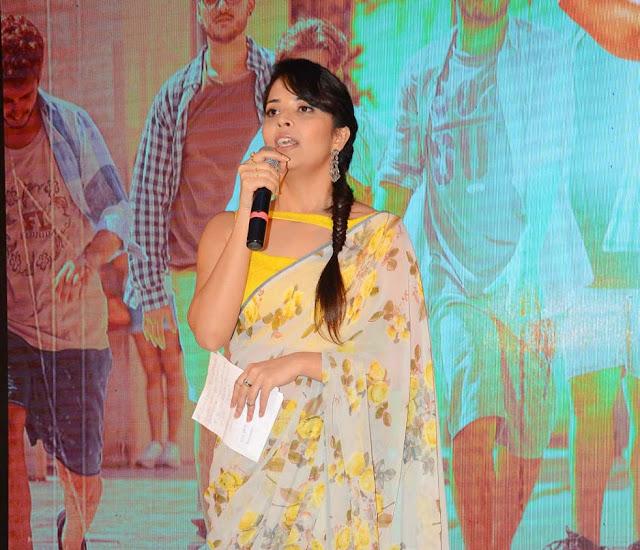 Anchor anasuya Stills at Ism Telugu Movie Audio launch