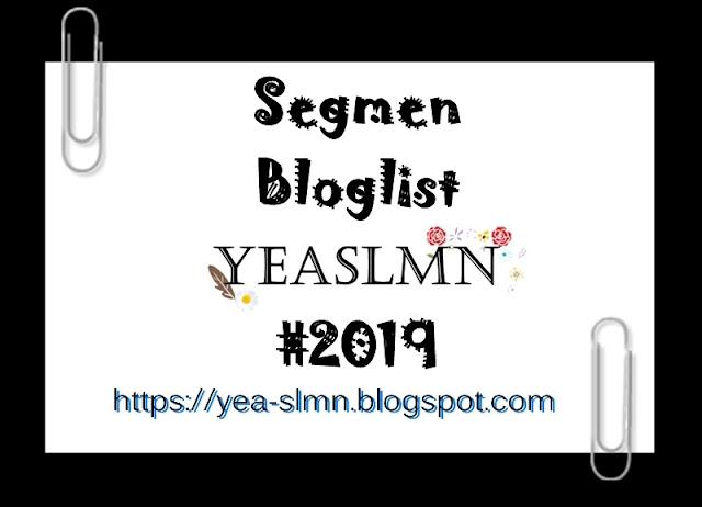 Segmen Bloglist YEASLMN #2019 (Januari - Disember)