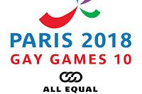 Gay Games 10 square logo