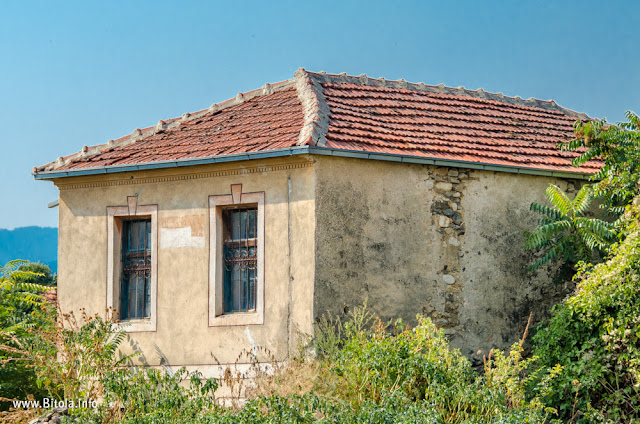 Traditional architecture, Velushina village, Bitola municipality, Macedonia