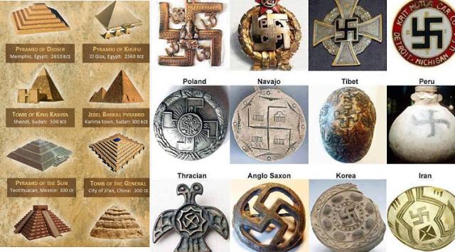 Απαγορευμένη ιστορία: Σύμβολα που συνδέουν τους μεγαλύτερους αρχαίους πολιτισμούς