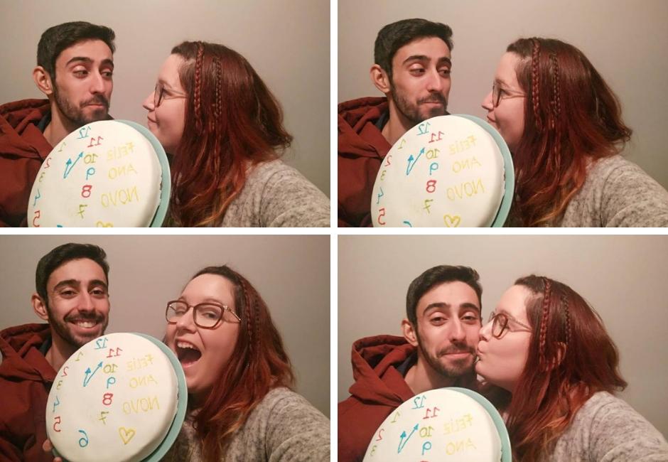 4 anos de blogue ela e ele + ele e ela+ blogue de casal português + pedro e telma + feliz ano novo + 2019 + festa + aniversário do blogue