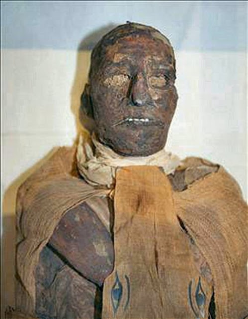 Momia del faraón Ramsés III.