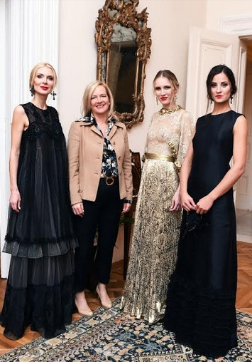 Private Fashion Show di Michele Miglionico all'Ambasciata d'Italia a Londra