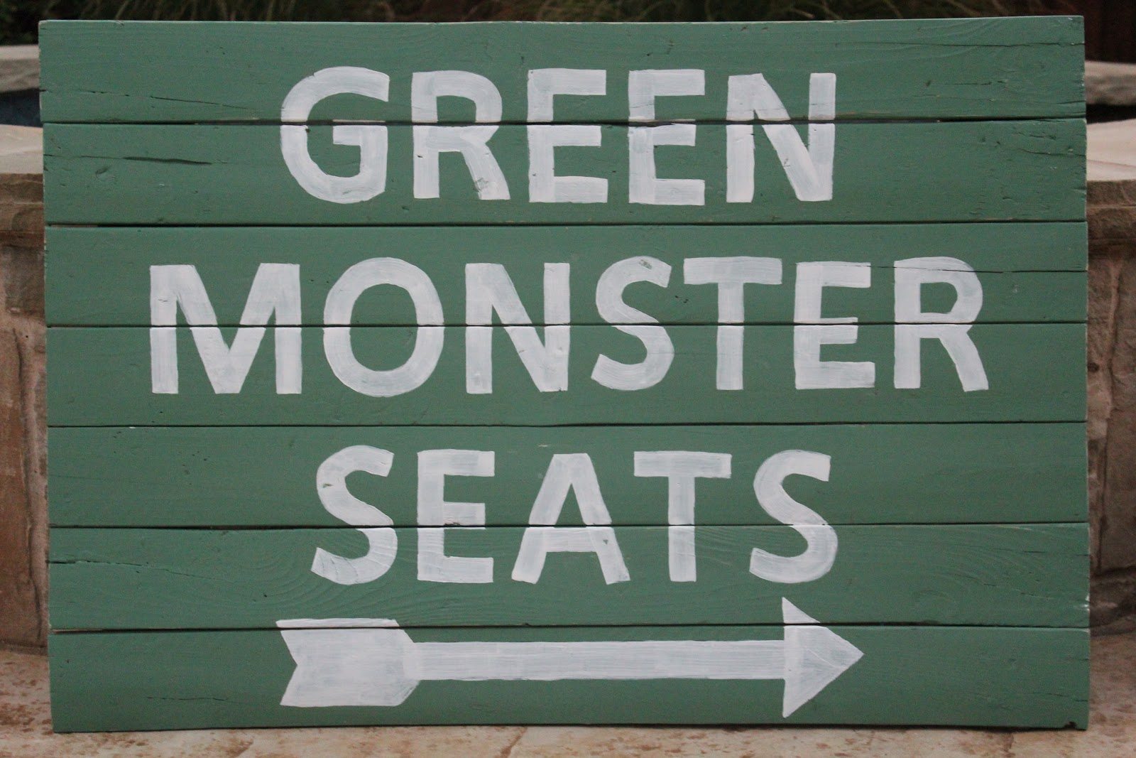 I Have Always Wanted To Paint A Green Monstah Sign On Riley S Wall But Because We Move So Much Needed Make It Portable This Is What Came Up With