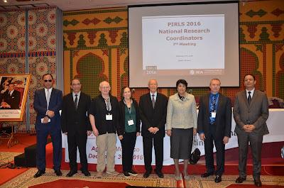 انطلاق أشغال اللقاء السابع للمنسقين الوطنيين للدراسة الدولية لتقويم تطورالكفايات القراءاتية