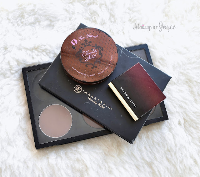 Battle of the Matte Contour Sculpting Bronzing Powders Review Swatches