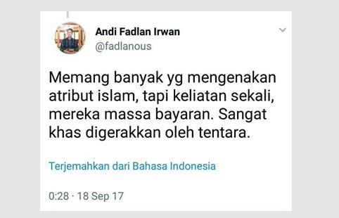 GEGER! Bercuit Hina Islam dan Fitnah TNI, Dokter Fadlan Picu Amarah Warganet