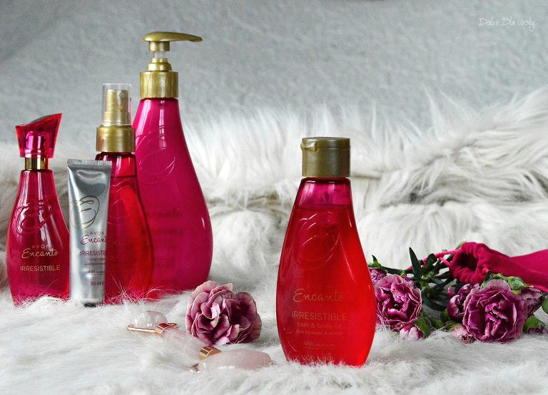 Avon  Encanto Irresistible - Wygładzający olejek do ciała i do kąpieli