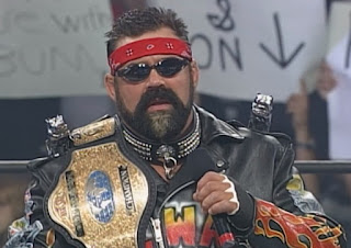 WCW Bash at the Beach 1999 - Rick Steiner defended the TV title against Van Hammer
