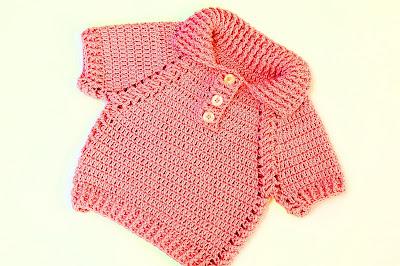 3 - Crochet IMAGEN Jersey de niño y niña a crochet muy facil y rapido