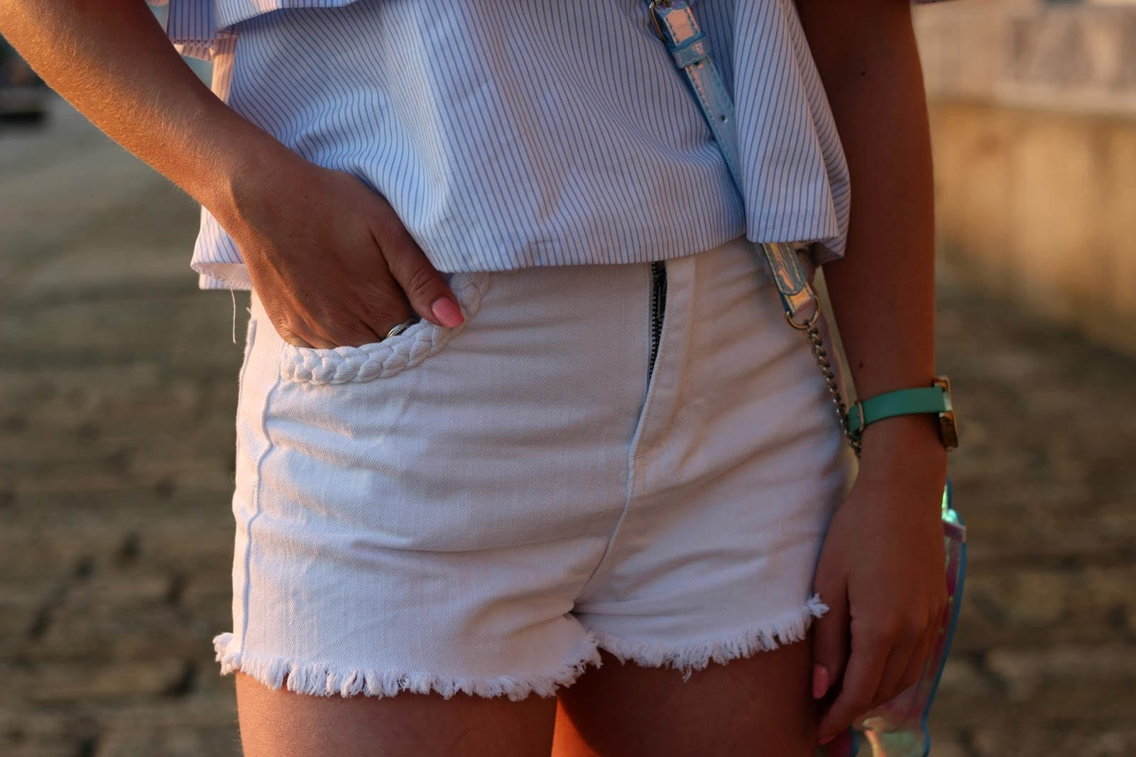 primark-white-denim-shorts