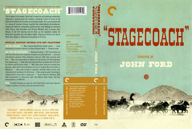 Stagecoach [1939] (scan) DVD Cover