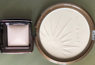 Hourglass Ambient Lighting Powder Dim Light vs. Wet'n'Wild Reserve your Cabana