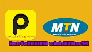 How to Use MTN BBLITED  on Android With any VPN