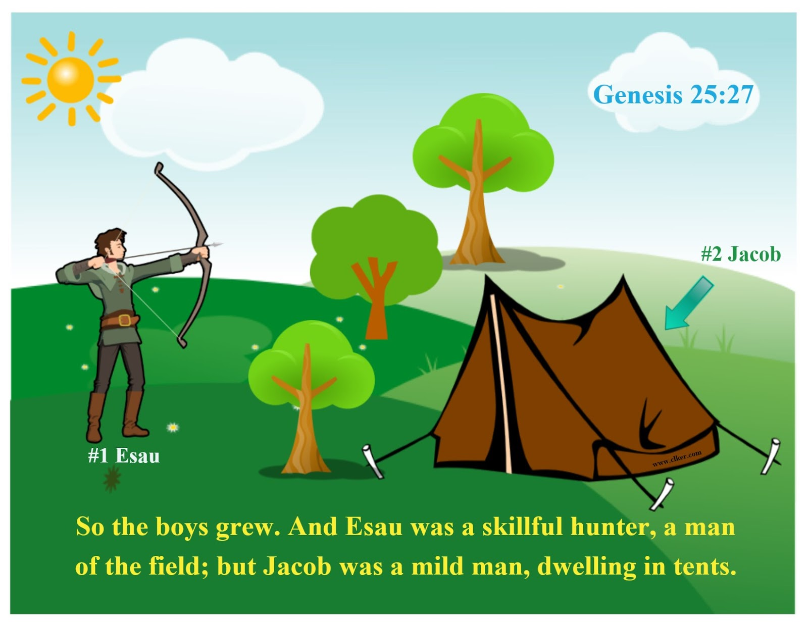 Bible Fun For Kids: Genesis: Jacob & Esau