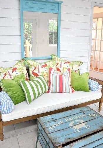 Azzurro dentro e fuori per la casa al mare blog di for Case moderne sotto 2000 piedi quadrati