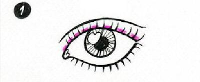 Langkah 1 Cara memakai Eye Liner Bagi Pemula