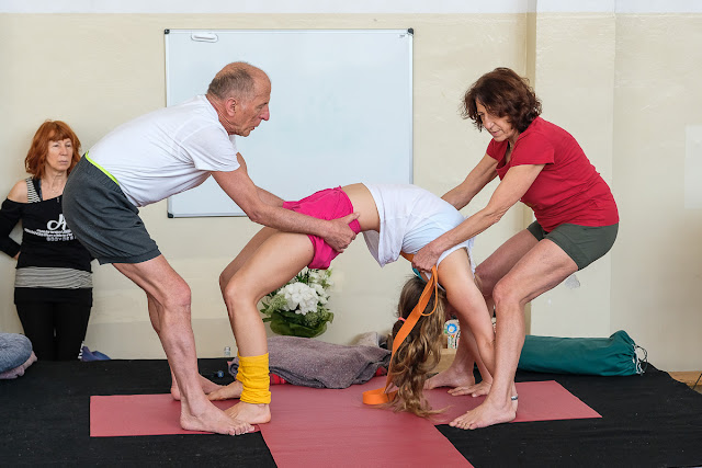 Gabriella Giubilaro, yoga, Jerzy Jagucki