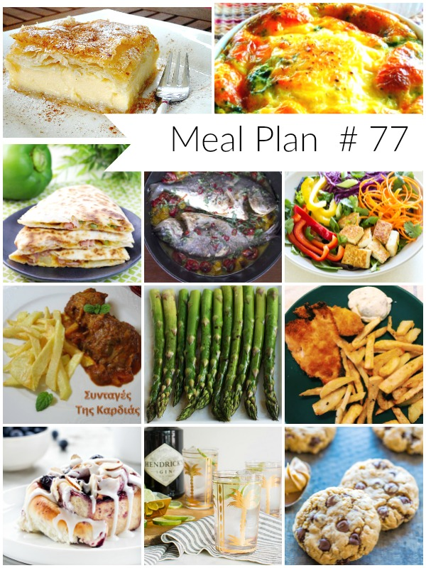 All new delicious weekly meal plan to help you plan out your week! - Ioanna's Notebook