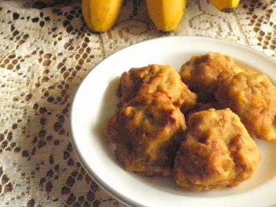Jemput2 Pisang/Banana Fritters (Baked) Recipe @ treatntrick.blogspot.com