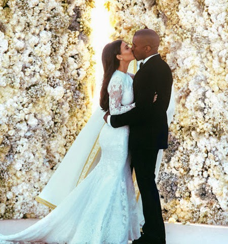 Сватбата на Ким Кардашиян и Кание Уест