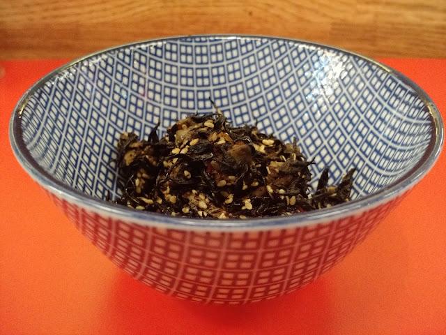 Salade d'algues Hijiki Kodawari Resto japonais Paris - Le Chameau Bleu