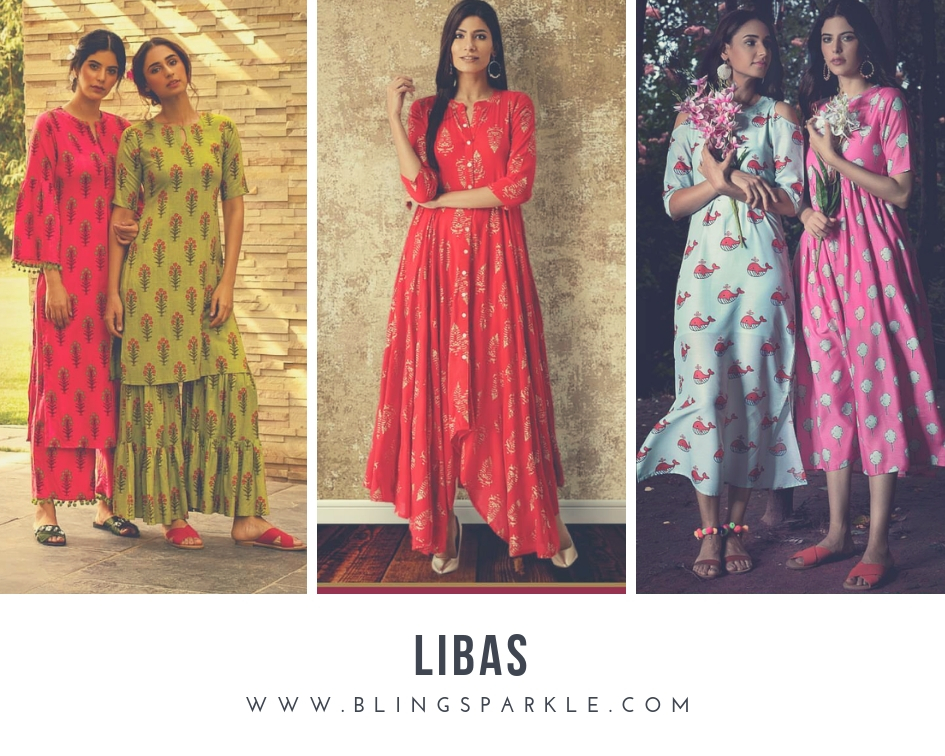 8e23c4e04 Libas has the best of young, stylish and modern styles of ethnic Indian wear  that perfectly define the new age Indian women. Their outfits are upbeat,  ...