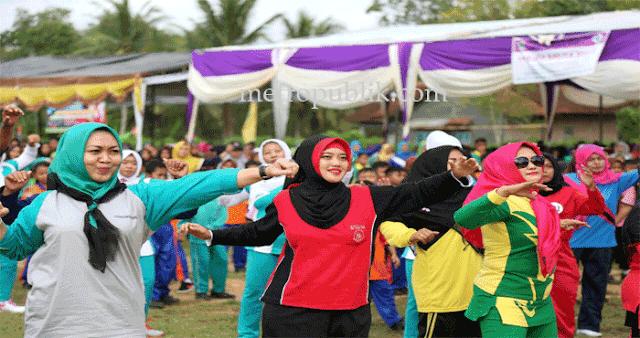 Bupati Lampung Timur Ajak Masyarakat Hidup Sehat