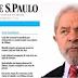 Ao publicar artigo de Lula, Folha dá voz a um criminoso contra a Justiça do Brasil