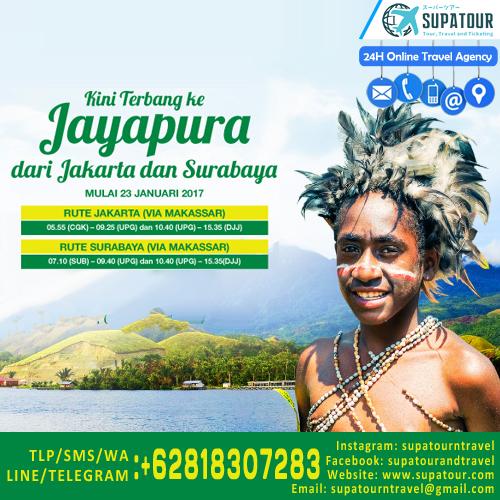 Jayapura New Route by Citilink