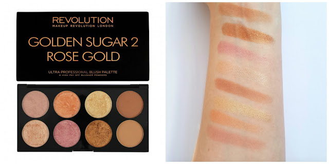 Revolution Makeup Ultra Palette Golden Sugar 2 Palette