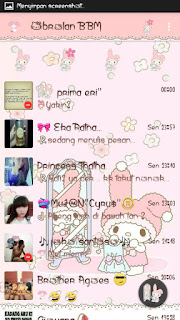 Download BBM MOD Cute Melody Terbaru