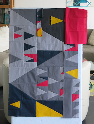 Luna Lovequilts - Improv Score 6 - Sherri Lynn Wood - Design process