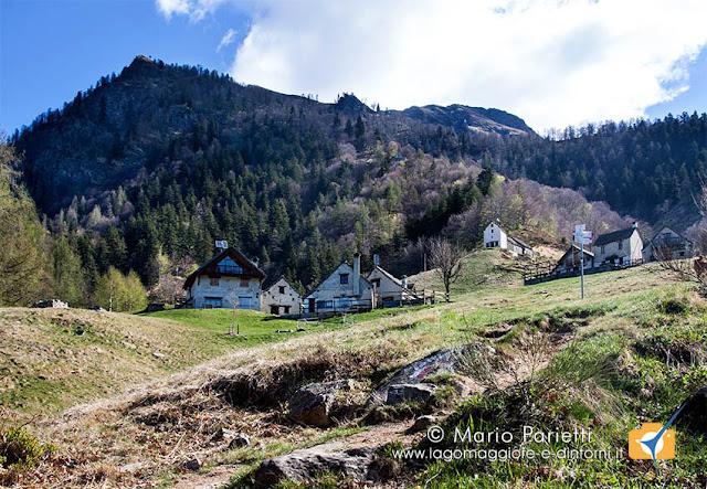 Alpe Cortina in valle Vigezzo