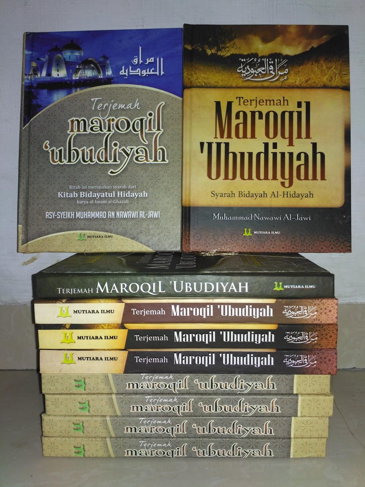 Ebook bidayatul hidayah download