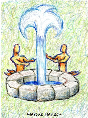 the church should drink from the fountain of his spirit to stay together