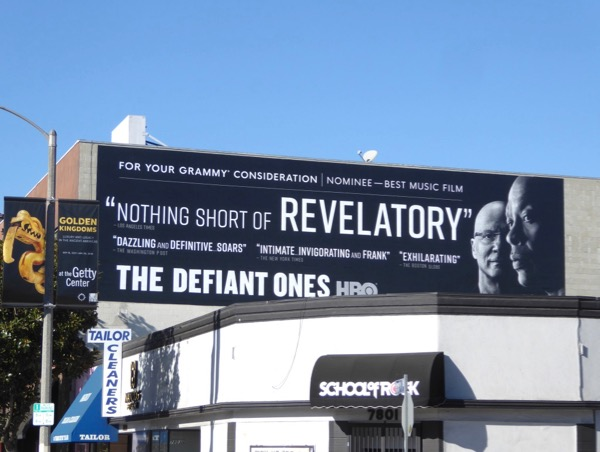 Defiant Ones Grammy FYC billboard