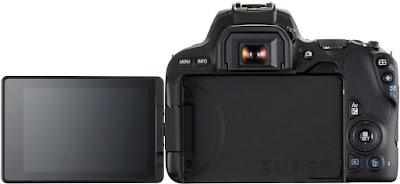 Canon 200D Vari Angle Touchscreen