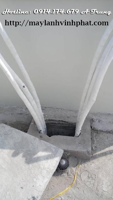 Thi công ống đồng quận 9, quận bình tân giá rẻ cho chung cư - văn phòng