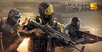 Modern Combat 5: eSports FPS v2.6.0g Mod Apk+Data (God Mode+Anti Ban)