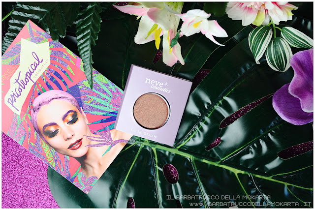 eyeshadow ombretti packaging psicotropical collection neve cosmetics