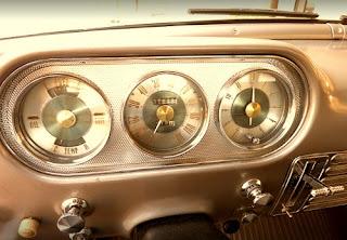 1951 Packard 300 Classic Sedan RPM & Speedometer