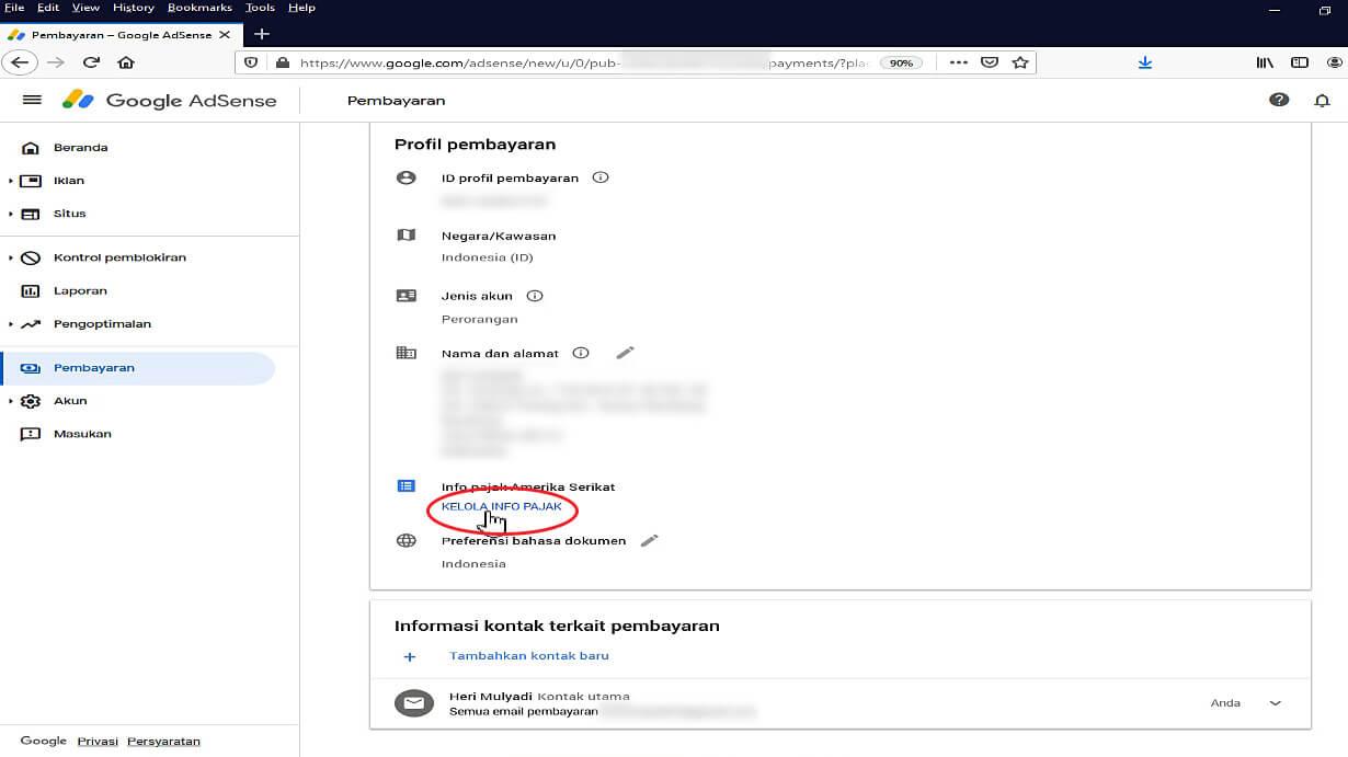 Mengirimkan Informasi Pajak ke Google 4