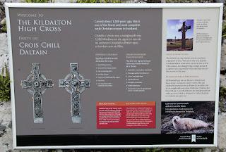 Information board for Kildalton Cross