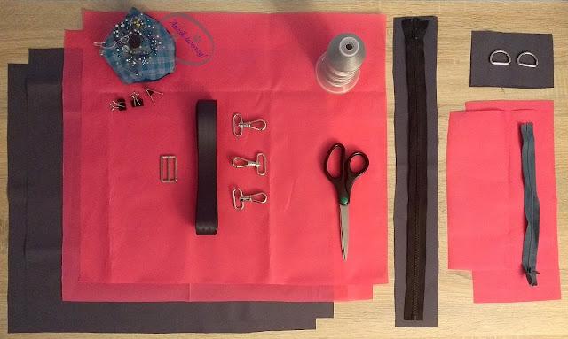 Adzik tworzy - torebka DIY z podszewką i zamkiem z czego uszyć