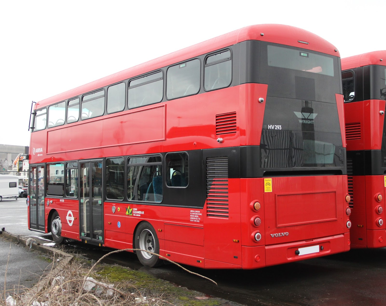 Benji Transport 12 : The Brand New Bus Blog: 17 Plate Double Deck File