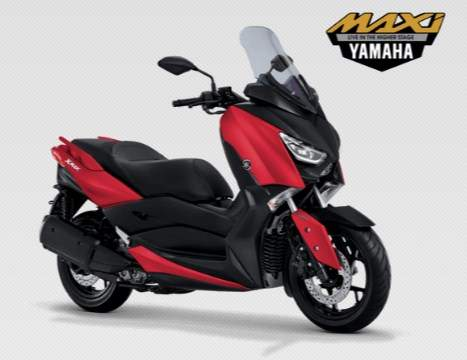 Yamaha Xmax 250 Matte Red 2019